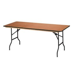 Table pieds repliables 80x180