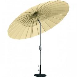 Parasol ombrelle avec pied (Blanc)