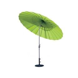 Parasol ombrelle avec pied (Vert anis)