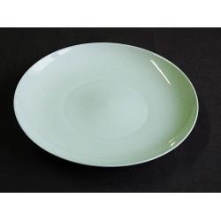 Plat rond porcelaine