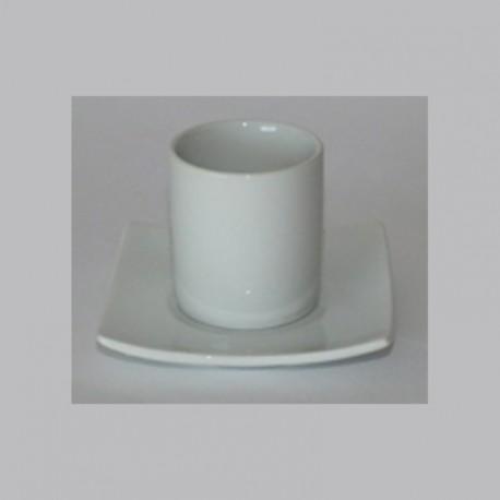 Tasse à café Déco + sous tasse Déco